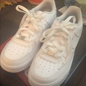 Nike Air Force 1s boys grade school size 7